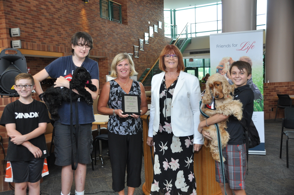 Sweet Charity Medical Assistance Dog Launch